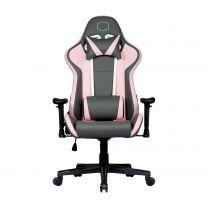 Cooler Master Gaming Caliber R1S Rose ArmChair Padded Seat Grey, Pink