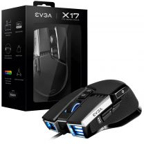 EVGA X17 Ambidextrous USB Type-A Optical 16000 DPI Mouse