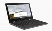"""Asus ChromeBook Flip 11.6"""" HD Ragged Touch Laptop, N4020, 4GB RAM, 64GB eMMC, CHROME OS - Grey"""