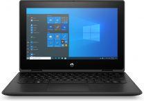 "HP ProBook x360 11 G7 Hybrid (2-in-1) 11.6"" HD Touchscreen Pentium Silver 8GB, 128GB, SSD, Windows 10 Pro Black"