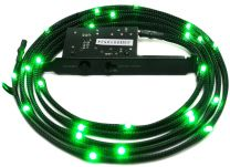 NZXT Sleeved LED Cable 1m Green