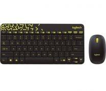 (Carton Damaged) Logitech MK240 Nano Wireless Keyboard And Mouse Combo