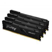 Kingston  Fury Beast 64GB 4x16 DDR4-3200 Memory Module