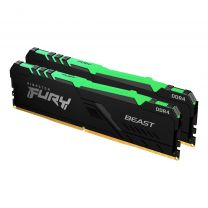 Kingston  Fury Beast RGB 32GB 2x16 DDR4-3200 Memory Module