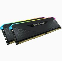 Corsair Vengeance RGB RS 32GB (2x16) DDR4-3200 RAM - Black