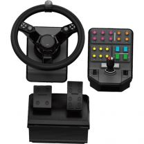 Logitech G Farm Sim Heavy Equipment Controller Bundle