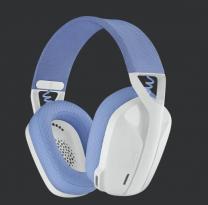 Logitech G435 LightSpeed Wireless Headset - White