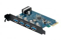 Orico PVU3-4P 4 Port USB3.0 PCI-e Express Card