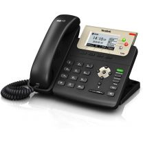 Yealink SIP-T23G 3 Line IP Phone with Dual-Port Gigabit and PoE Support