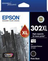 Epson 302XL - High Capacity Claria Premium - Photo Black Ink Cartridge
