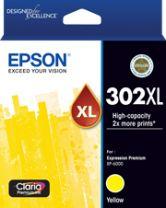 Epson 302XL - High Capacity Claria Premium - Yellow Ink Cartridge