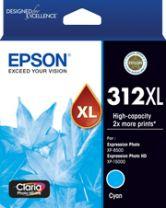 Epson 312XL - High Capacity Claria Photo HD - Cyan Ink Cartridge