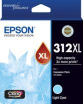 Epson 312XL - High Capacity Claria Photo HD - Light Cyan Ink Cartridge