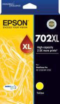 Epson 702XL High Capacity DURABrite Ultra - Yellow Ink Cartridge