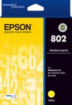 Epson 802 Std Capacity DURABrite Ultra - Yellow Ink Cartridge