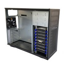TGC Tower Server Chassis 4U 555mm 3xExt 5.25""
