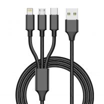 1M USB 3-in-1 Multi Charger Cable