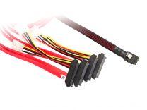 1m M-SAS To 4XSAS29/Molex Cable