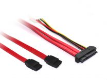 Dual SATA to Internal SAS29 SFF-8482 Cable
