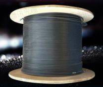 8Ware 350m CAT6A Ethernet Outdoor Black