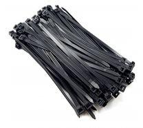 Cabac 200mm 2.5mm UV Nylon Cable Tie (100Pk)
