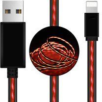 Astrotek 1m LED USB Lightning Charger Cable Pink