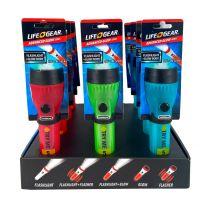 LifeGear Mini Flashlight Retail 12 Prok