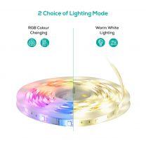 mbeat activiva 5m IP65 White LED Strip Light