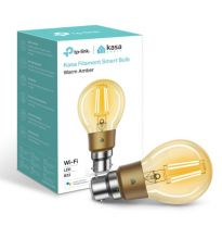 TP-Link Kasa Smart Bulb Warm Amber Bayonet