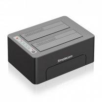 "Simplecom Dual Bay USB 3.0 Docking 2.5""/3.5"""