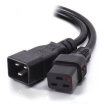 Alogic IEC LOCK 5m IEC C19 to IEC C20 Power Extension Cord - M/F