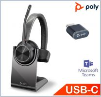 Poly Voyager 4310 UC Mono With BT700 USBC Stand MS
