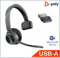 Poly Voyager 4310 UC Mono With BT700 USB-A Teams