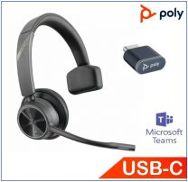 Poly Voyager 4310 UC Mono With BT700 USB-C Teams