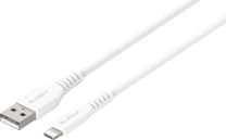 Blupeak 2.5m Apple MFi Certified Lightning to USB Cable - White