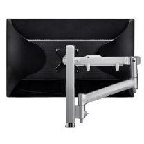 Atdec AWM Single Arm 400mm Grommet Clamp - Silver