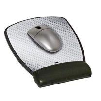 3M MW309LE Leatherette Gel Mouse Pad Wrist Rest