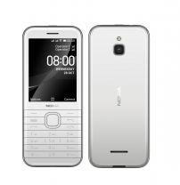 "Nokia 8000 4G 2.6"" 4GB Dual Sim WiFi Smartphone - White"