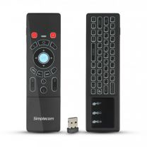 Simplecom Rechargeable 2.4GHz Wireless Mouse/Keyboard