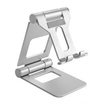 Brateck Foldable Stand Phone/Tablet Holder Silver