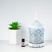 mbeat activiva Oil/Aroma Diffuser 100ml White