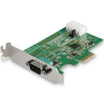 Startech 1 Port RS232 Serial Adapter Card with 16950 UART - PCIe Card