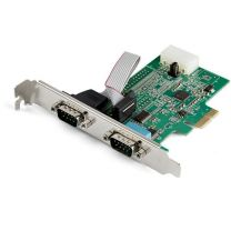 Startech 2-Port PCIe RS232 Serial Adapter Card