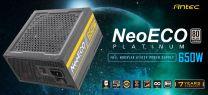 Antec NeoEco 650w 80+ Platin Fully Modular ATX Power Supply Unit
