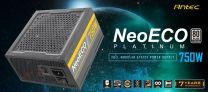 Antec NeoEco 750w 80+ Platin Fully Modular ATX Power Supply Unit