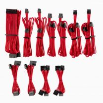 Corsair Individually Sleeved PSU Cables Pro Kit - Red