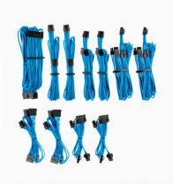 Corsair Individually Sleeved PSU Cables Pro Kit - Blue