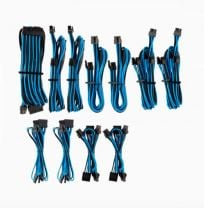 Corsair Individually Sleeved PSU Cables Pro Kit - Blue/Black