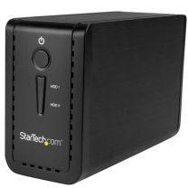 "StarTech USB 3.1 Dual 3.5"" SATA HDD Enclosure with RAID - USB-C/USB-A"
