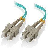 Alogic 0.5m SC-SC 10GbE Multi Mode Duplex LSZH Fibre Cable 50/125 OM3
